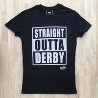 Derby Cult + Straight Outta Derby - T-Shirt
