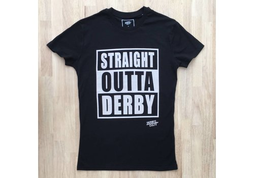 Derby Cult Derby Cult + Straight Outta Derby - T-Shirt