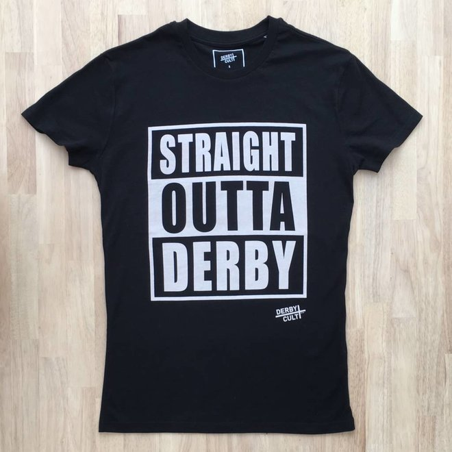 Derby Cult + Straight Outta Derby - T-Shirt