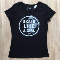 Derby Cult + Skate Like a Girl - T-Shirt