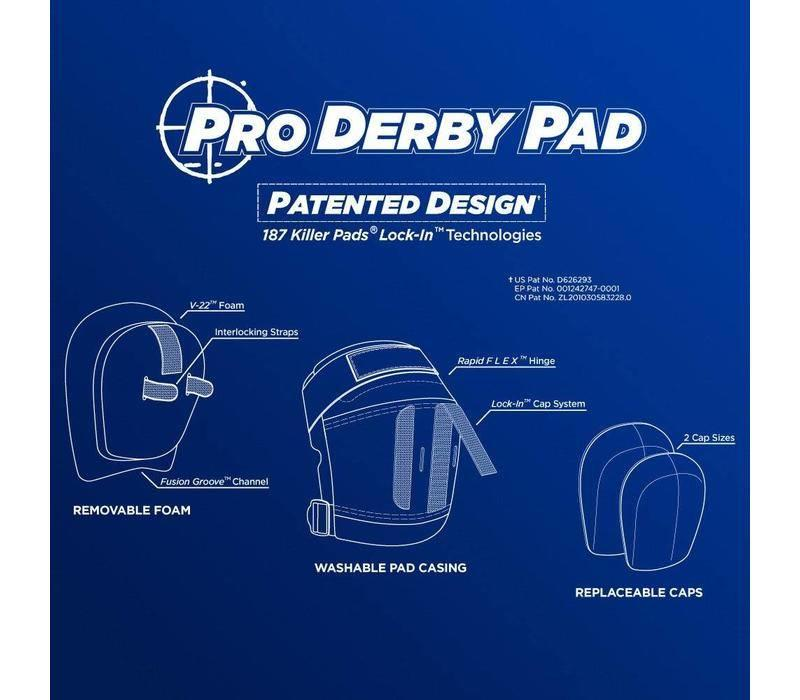 187 Pro Derby Knee Pads COLOURS