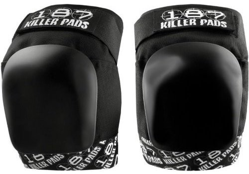 187 Killer Pads 187 Pro Knee Pads - White Print - Small