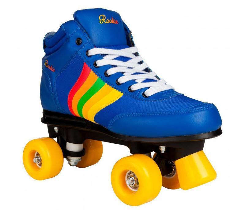 Rookie Forever Rainbow Blue Roller Skates
