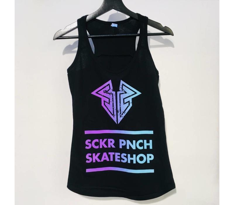 Sucker Punch Color Logo Racerback Top
