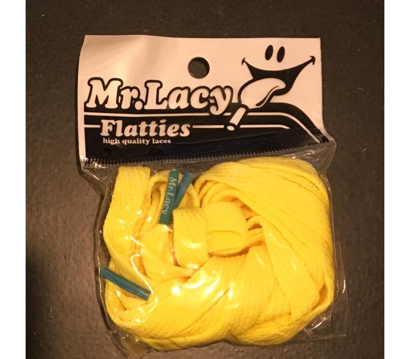 Mr Lacy Yellow with Mellow Blue Tip
