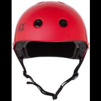 S1 Lifer Helmet Bright Red Gloss