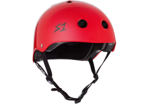 S1 Helmet Co. S1 Lifer Helmet Bright Red Gloss