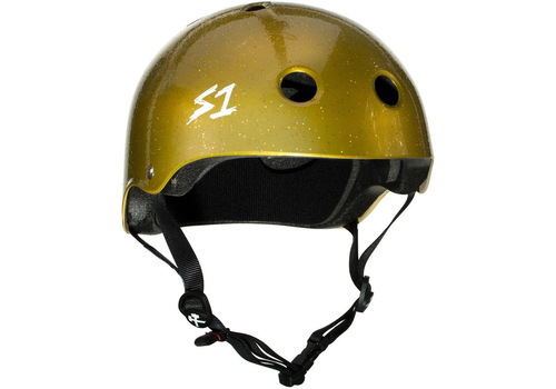 S1 Helmet Co. S1 Lifer Helmet Gold Sparkle