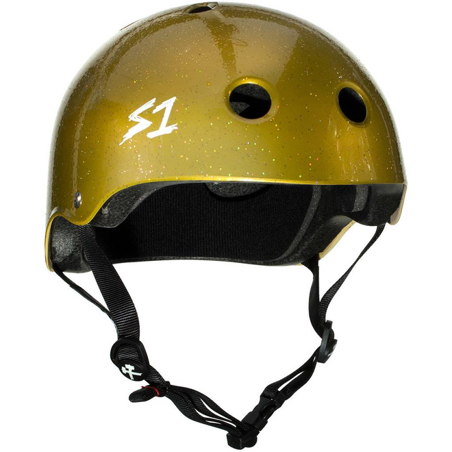S1 Lifer Helmet Gold Sparkle