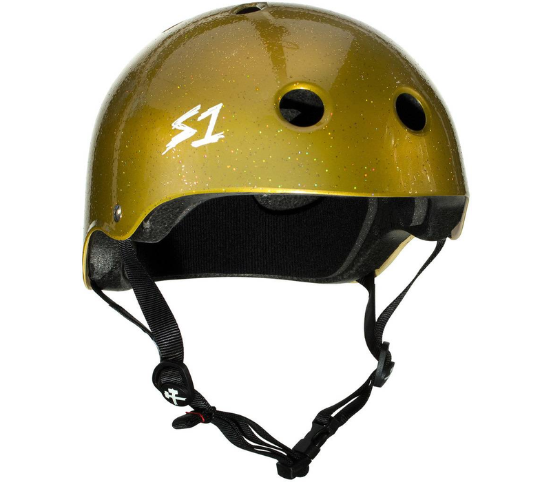 S1 Lifer Helmet Gold Sparkle