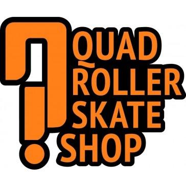 Quad Roller Skate Shop Logo