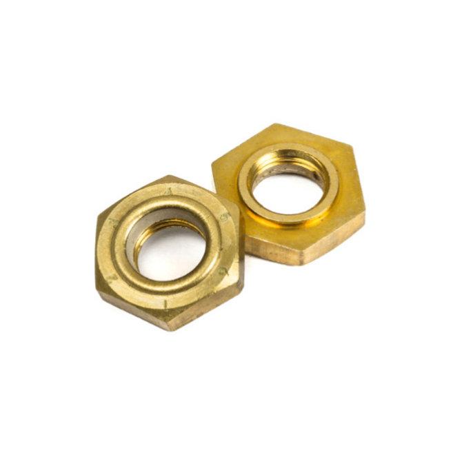 Chaya Kingpin Action Locknut Brass