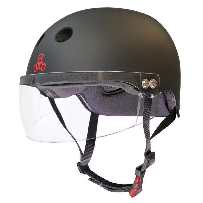Triple8 Certified Sweatsaver Helmet with Visor