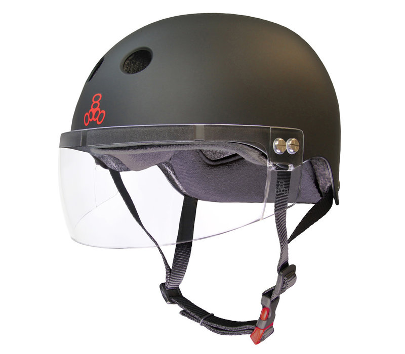 Triple8 Certified Sweatsaver Helmet with Visor
