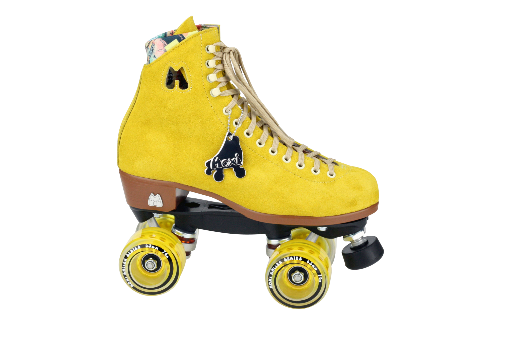 Moxi Lolly Skates Pineapple Yellow