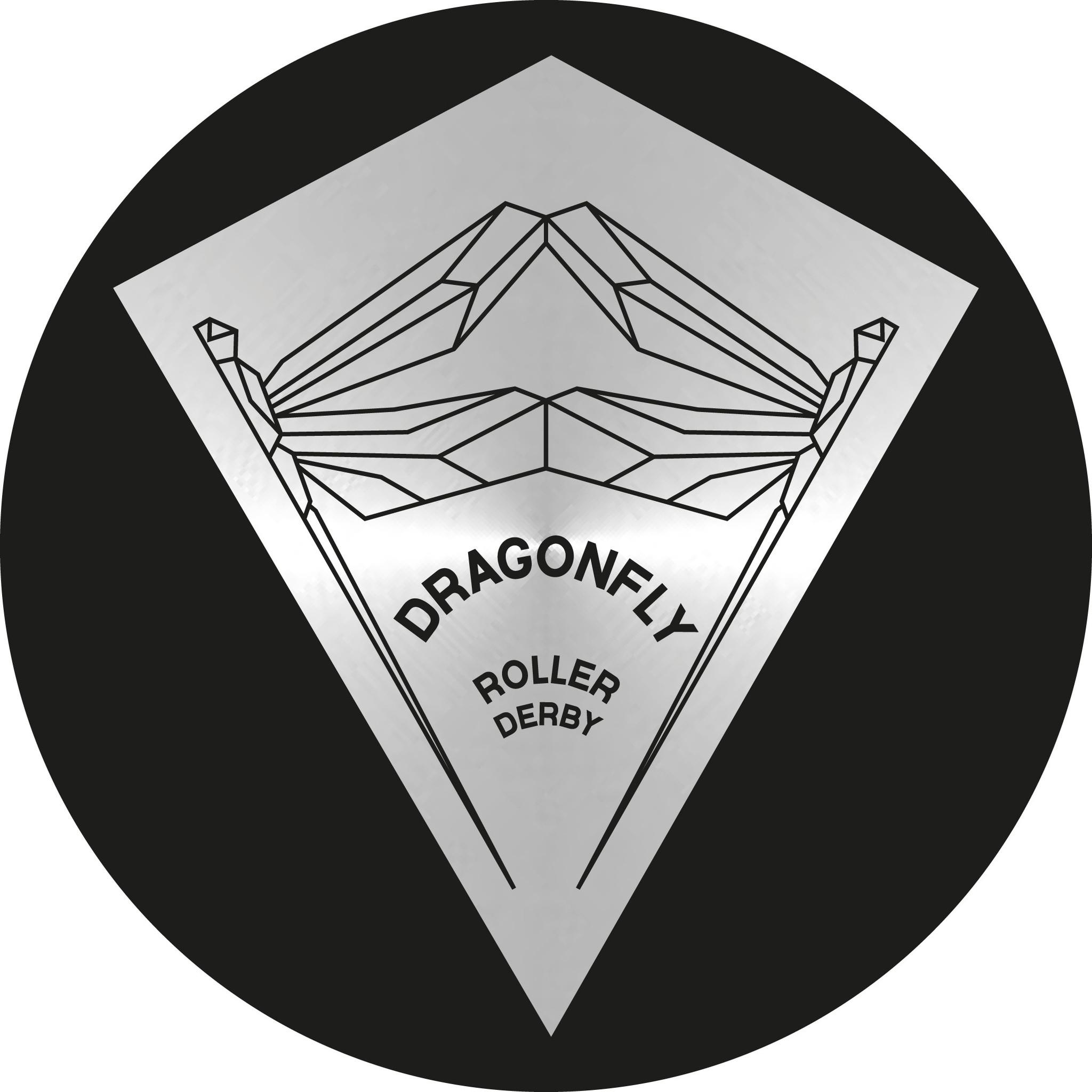 Logo Dragonfly Roller Derby Almada Portugal