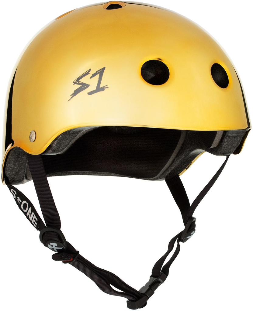 S1 Lifer Helmet Gold Mirror