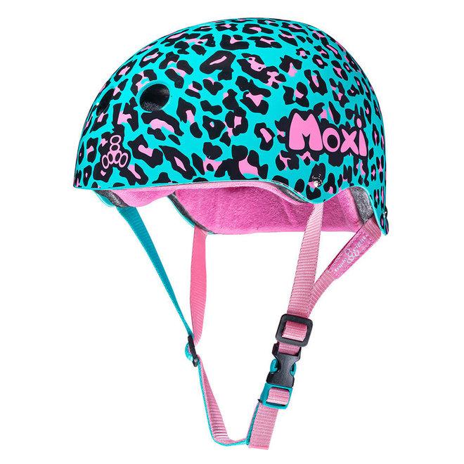 Triple8 Certified MOXI Leopard Sweatsaver Helmet