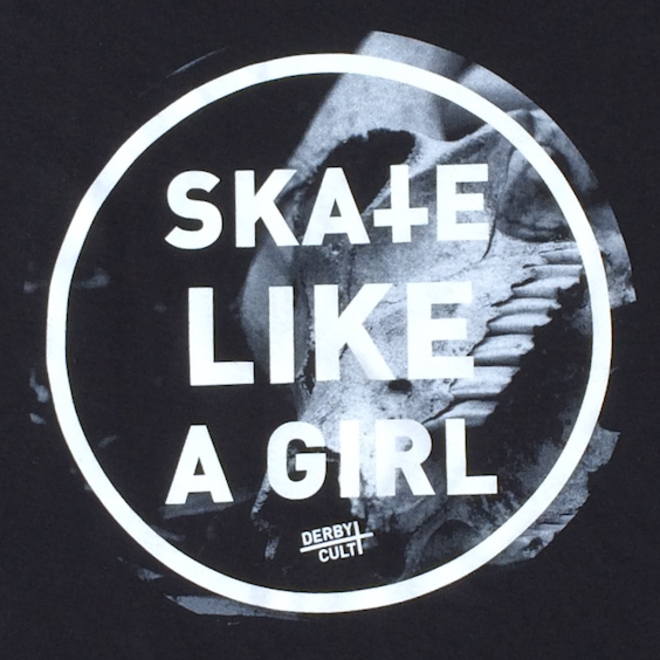 Derby Cult + Skate Like a Girl - Totebag