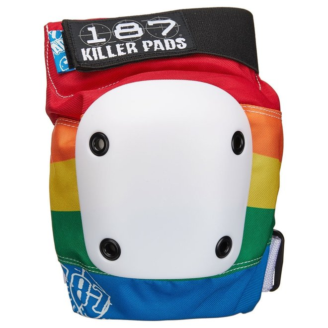 187 Rainbow Slim Knee Pads