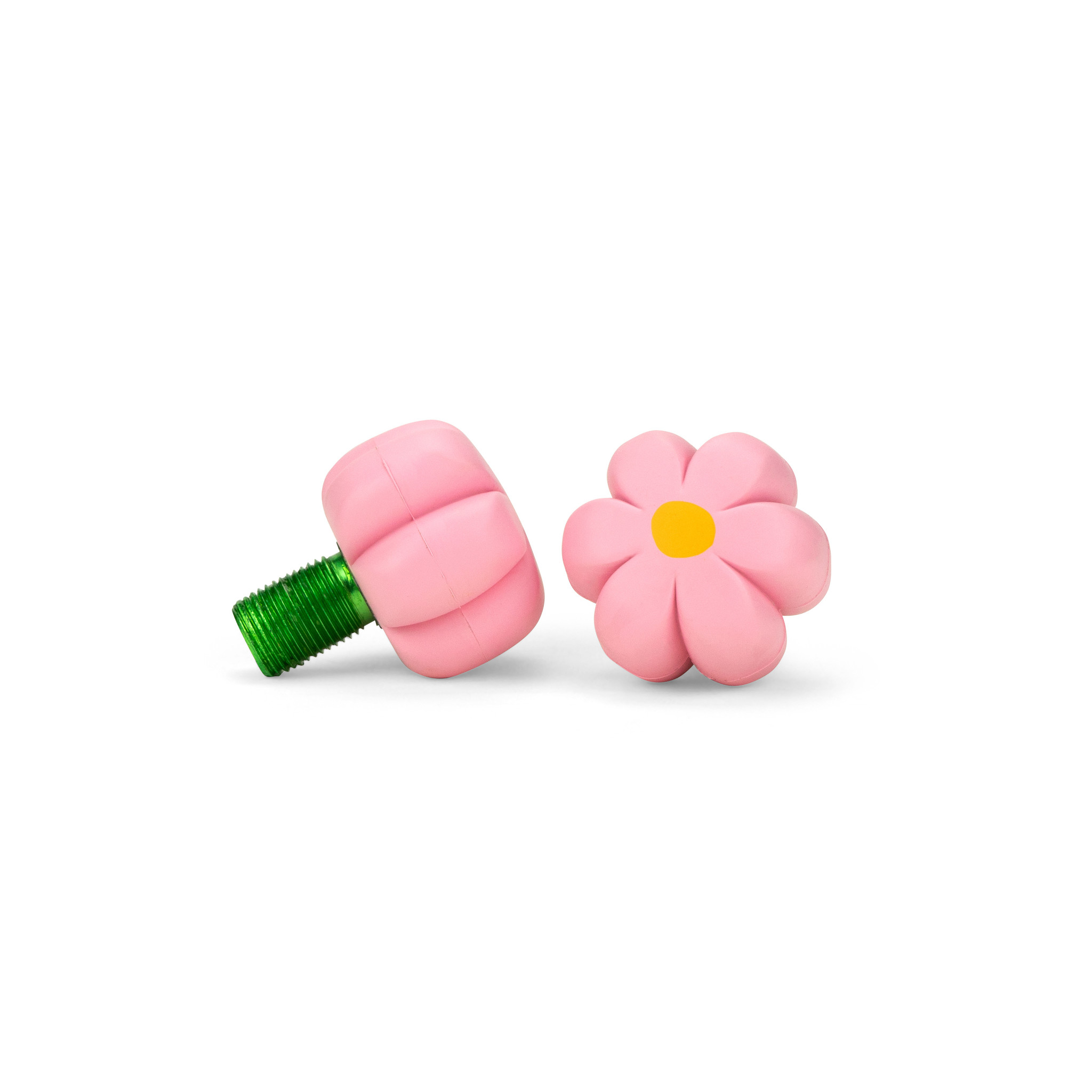 Moxi Brake Petals Toe Stops Pink Carnation