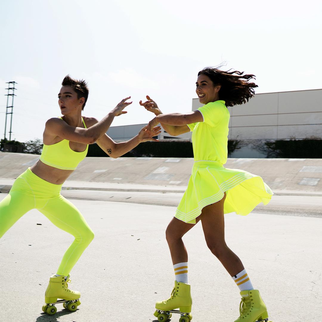 Impala Voltage Green Roller Skates