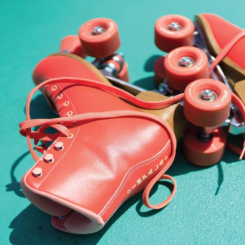 Impala Living Coral Roller Skates