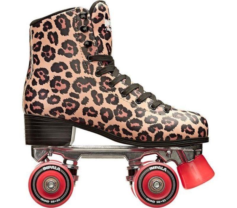Impala Leopard Roller Skates