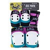 187 Killer Pads 187 Adult Six Pack - Pink/Teal