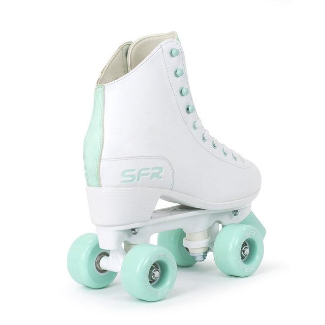 SFR Figure Quad Skates White/Mint