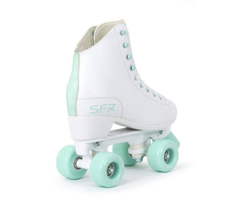 SFR Figure Quad Skates White/Mint