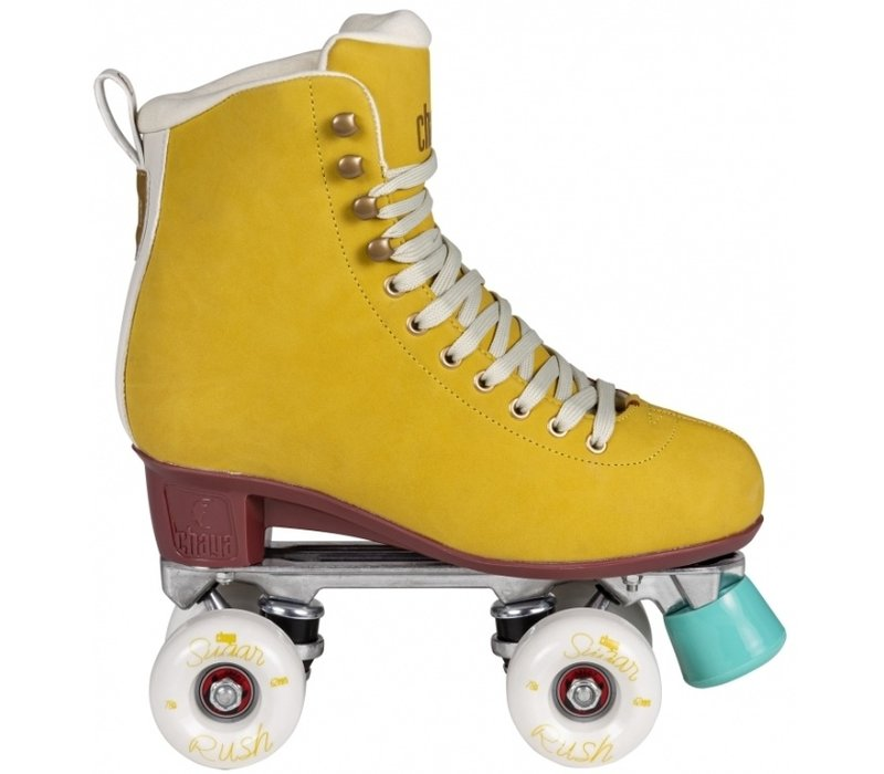 Chaya Melrose Deluxe Amber Outdoor Roller Skates