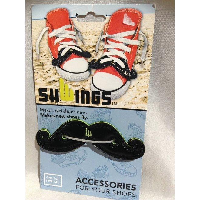 Black Moustache Shwings