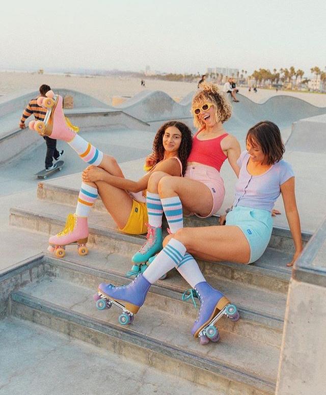 Impala Pink Roller Skates