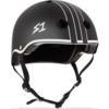 S1 Helmet Co. S1 Lifer Helmet Black Matte with White Outline