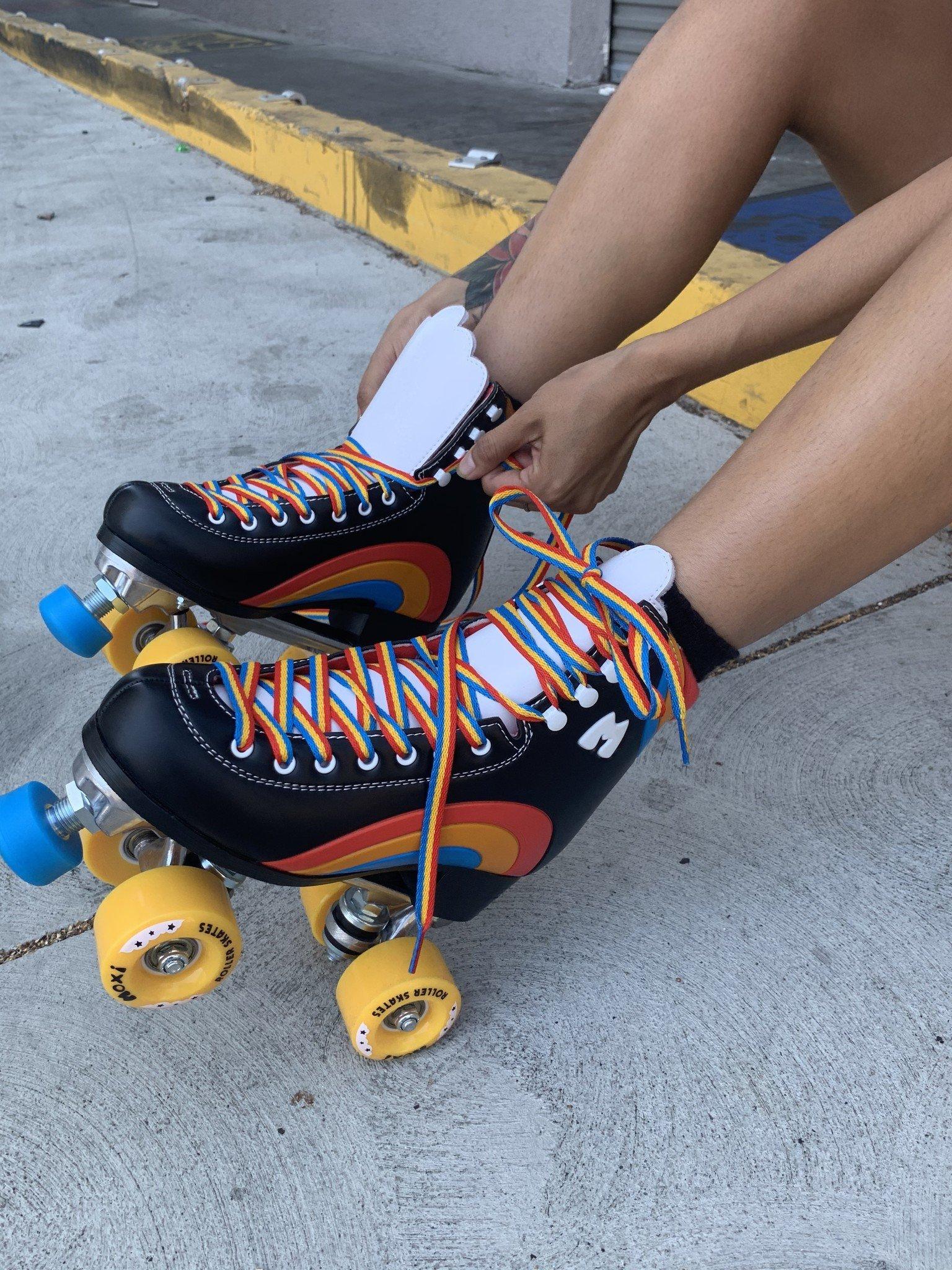 Moxi Rainbow Rider Roller Skates