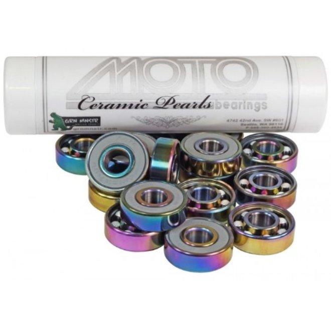 Moto Pearl Ceramic Bearings
