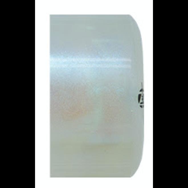 Luminous Light Up Wheels - White Pearl - 58mm