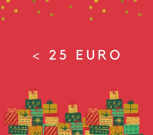 Cadeau's onder 25 euro