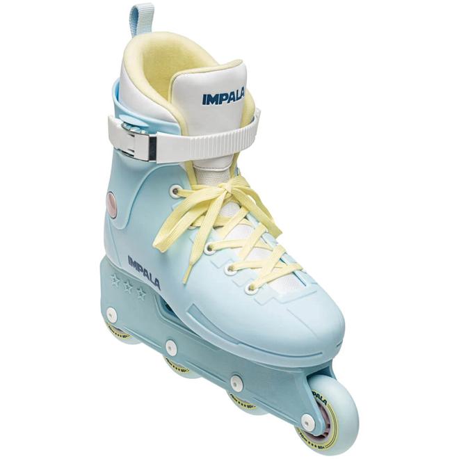 Impala Lightspeed Inline Skate - Sky Blue & Yellow