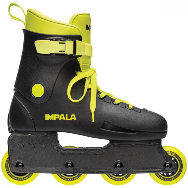 Impala Lightspeed Inline Skate - Black & Fluoro