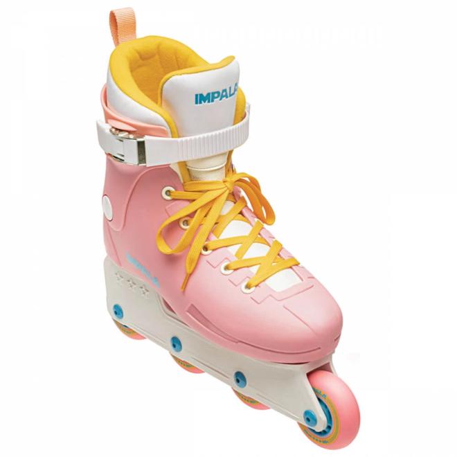 Impala Lightspeed Inline Skate - Pink & Yellow