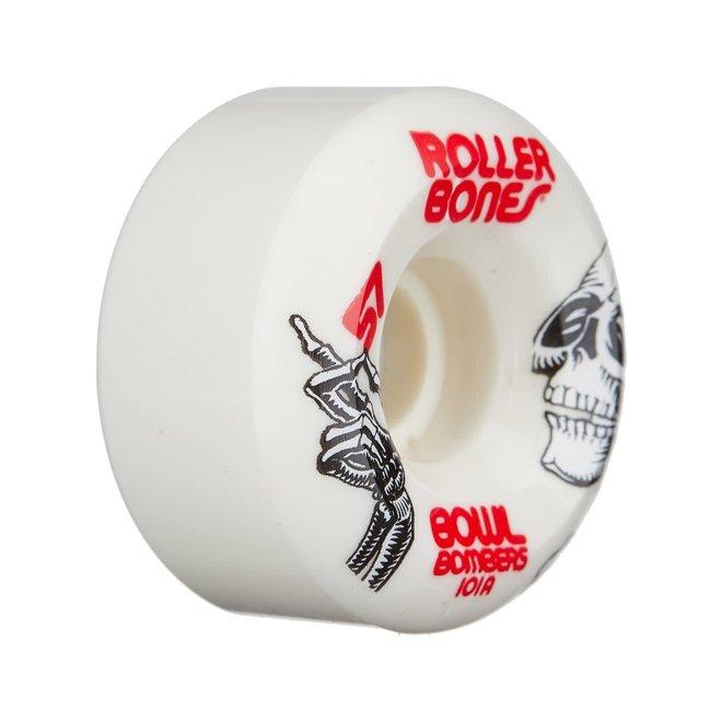 RollerBones Bowl Bombers White