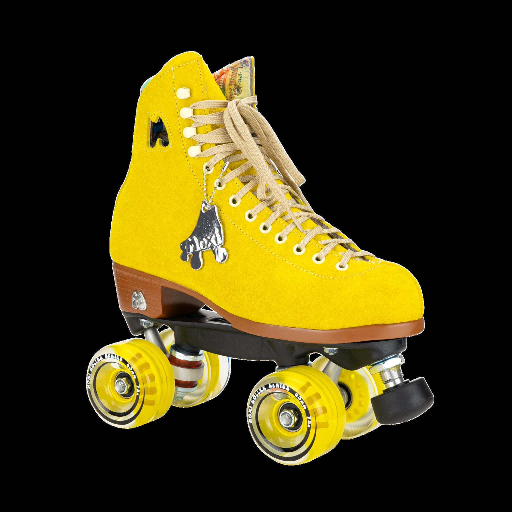Moxi Lolly Skates Pineapple Yellow