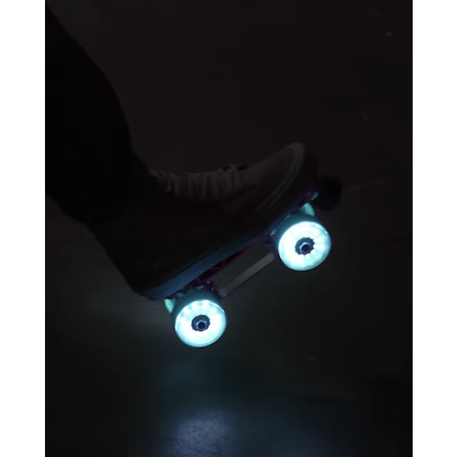 Luminous Light Up Wheels - Jade Glitter