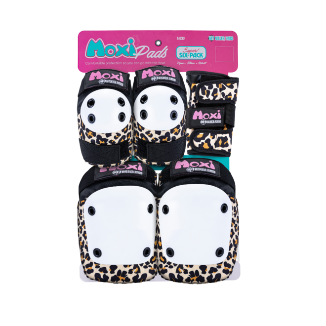 187 Adult MOXI Six Pack LEOPARD