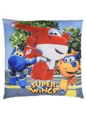 Super Wings Ornamental cushion 3 heroes 40x40cm