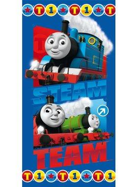 Thomas de Trein Strandlaken Steam Team 70x140cm