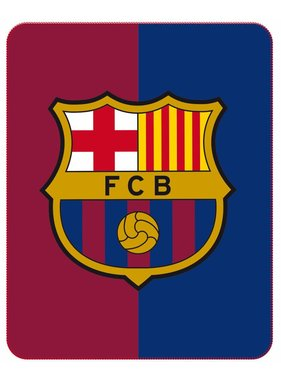 FC Barcelona Plaid Officially 110x140cm Polyester