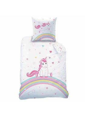 Matt & Rose Duvet cover Licorne 140 x 200 + pillowcase 63x63 cm